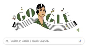 El homenaje de Google a María Grever (Foto: Google)